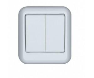 А56-029-B Прима выкл.2кл оу бел (88168)