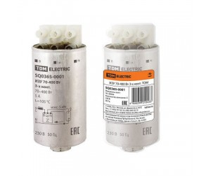 Импульсно-зажигающее устройство ИЗУ 70-400Вт ТДМ