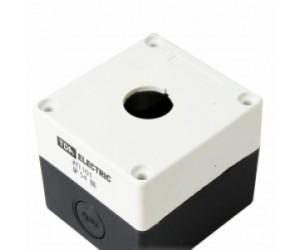 Корпус КП101 для кнопок 1место белый