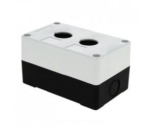 Корпус КП102 для кнопок 2места белый