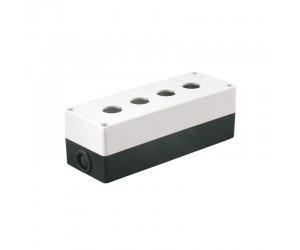 Корпус КП104 для кнопок 4места белый