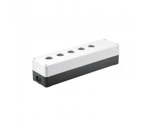 Корпус КП105 для кнопок 5(6)мест белый