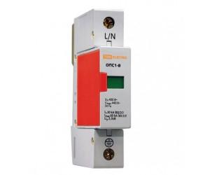 Ограничитель ОПС1-В 1Р (30-60кА 400В) TDM
