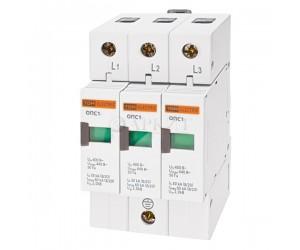 Ограничитель ОПС1-С 3Р (20-40кА 400В) TDM(12624)