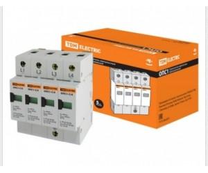 Ограничитель ОПС1-С 4Р (20-40кА 400В) TDM(70385)