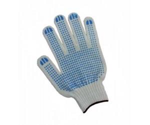 Перчатки ХБ с ПВХ 5нитка 10класс (78657)