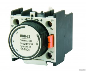 Приставка ПВИ-22 задержка на выкл. 10-180сек.1з+1р