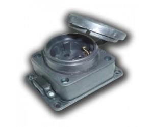 Розетка 3102-306-0300 DP02001 настенная каучук 3ф 16А 380В