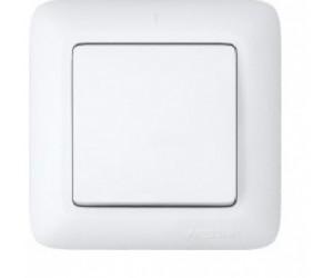 С16-057 Прима выключатель 1 кл с/п белый (10638) (88179)