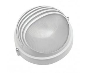 Светильник НПБ 1107 белый/круг ресничка100Вт IP 54