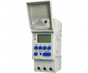 Таймер ТЭ15 цифровой 16А 230В на DIN-рейку ИЭК (66207)