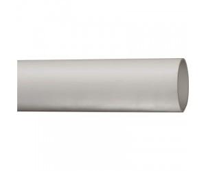 Труба гладкая d-40(жесткая дл.3м)серая (13301)