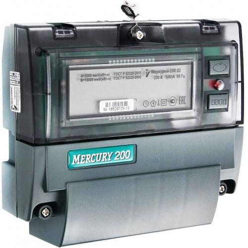 Эл.счетчик Меркурий 200,02 (5-60А)