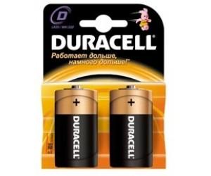 Элемент питания DURACELL  MN1300/LR20 PLUS