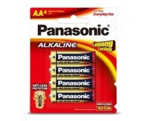 Элемент питания Panasonic R06 Alkaline BP4