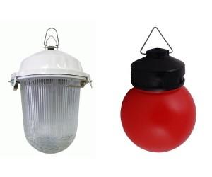 Светильники с лампами накаливания, с основаниями