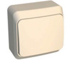 ВА10-001к ЭТЮД Выключатель 1-кл крем ОП (25) (69030)