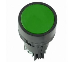 Кнопка SB-7 Пуск зеленая 1з+1р d22мм/240B