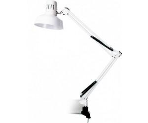 Настольная лампа KD-312 белый 230V 60W струбцина