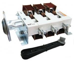 Рубильник ВР 32-37В 31250 400А (съёмная рукоятка)