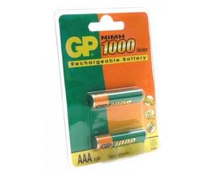 Аккумулятор GP R03/100ААAHС NiMH 1000 mAh ВС-2PET-G (13120)