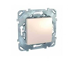 Уника MGU5.201.25ZD Выключатель 1-кл. бежевый (68004)
