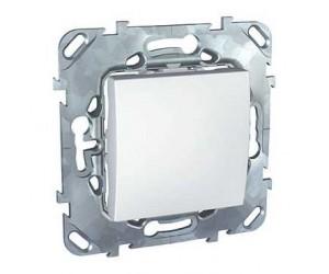 Уника MGU5.201.18ZD Выключатель 1-кл. белый (68040)
