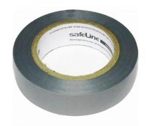 Изолента Safeline серая (15мм*20м)
