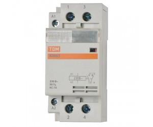Контактор модульный КМ63/2-25 2НО (220В) (27610)