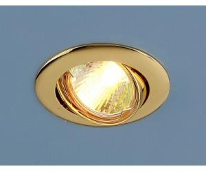 Светильник точечный EL 104S MR16 золото (42881)