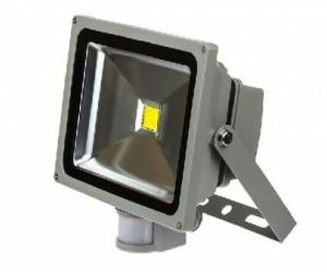 Прожектор светодиодный СДО-2Д  10Вт 6500К 700Лм IP65 220В датч. движ. ASD