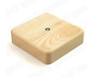 Коробка расп. GE41211-11 (75*75*20) отк.уст. Сосна (100шт.) Greenel