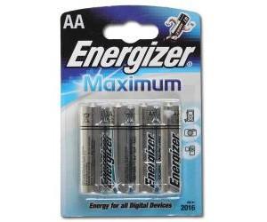 Элемент питания ENERGIZER E91/LR6 Maximum BP4