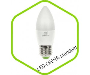 Лампа светодиодная C37 5Вт Е14 3000К 400Лм 220В ASD