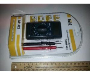 Мультиметр М-182 Compact IEK(64703)