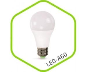Лампа светодиодная A60 15Вт Е27 3000К 1200Лм 220В ASD(63014)