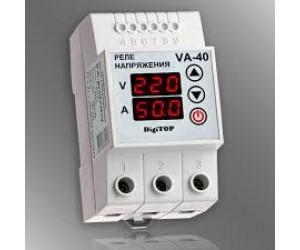 Реле напряжения и тока VA-40А