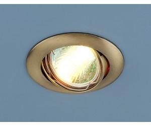 Светильник точечный EL 104S MR16 бронза (SB) (42910)