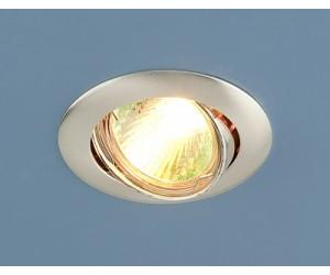 Светильник точечный EL 104S MR16 сатин серебро (SS) (38674)
