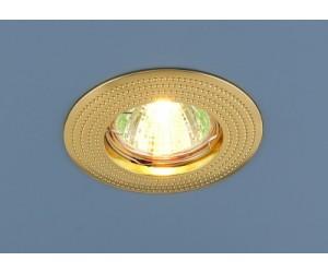 Светильник точечный EL 601 MR16 золото (42296)
