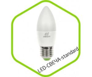 Лампа светодиодная C37 5Вт Е27 4000К 400Лм 220В ASD(55123)