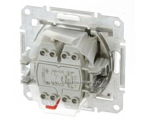 Седна Выключатель 1-кл. белый SDN0100321 IP44 (89306)