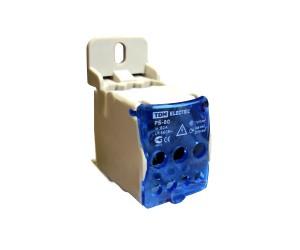 Распред. блок РБ-80А на DIN-рейку 1Р(1*16/4*6+2*16) TDM