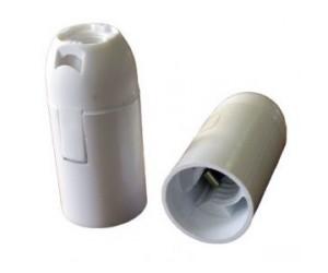 Патрон Е14 подвесной пластик TDM