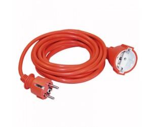 Удлинитель-шнур УШ-01РВ 3х1/10м с вилкой и розеткой ИЭК (79848)
