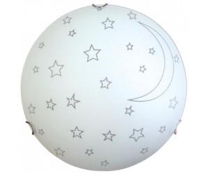 Светильник НПБ 2х60 М16 Ночка d300 мат.белый (205-363)