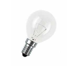 Лампа накаливания Р45 40Вт Е14 220В прозрачная ASD