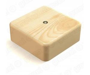 Коробка расп. GE41221-11 (100*100*44) отк.уст. Сосна (25шт.) Greenel