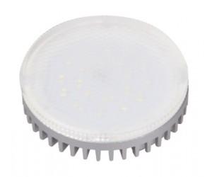 Лампа светодиодная PLED GX53 6 Вт 5000К FROST 460Lm JazzWay (75456)