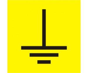 Символ заземления 30х30мм ИЭК